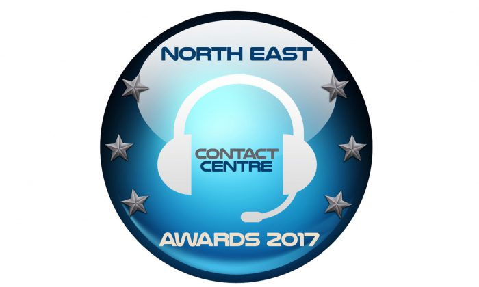 North East Contact Centre Awards 2017 logo