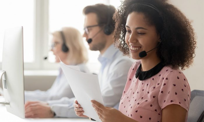 greenbean temporary worker in financial services contact centre